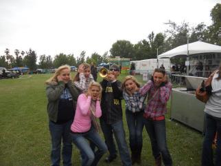 Jungle Jim with Crazy Kat fans