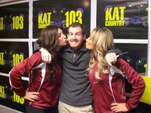 Jungle Jim with 49ers Cheerleaders
