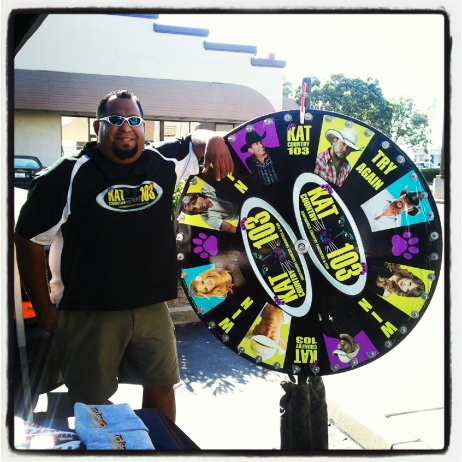 Ray with the Wheel of KAT