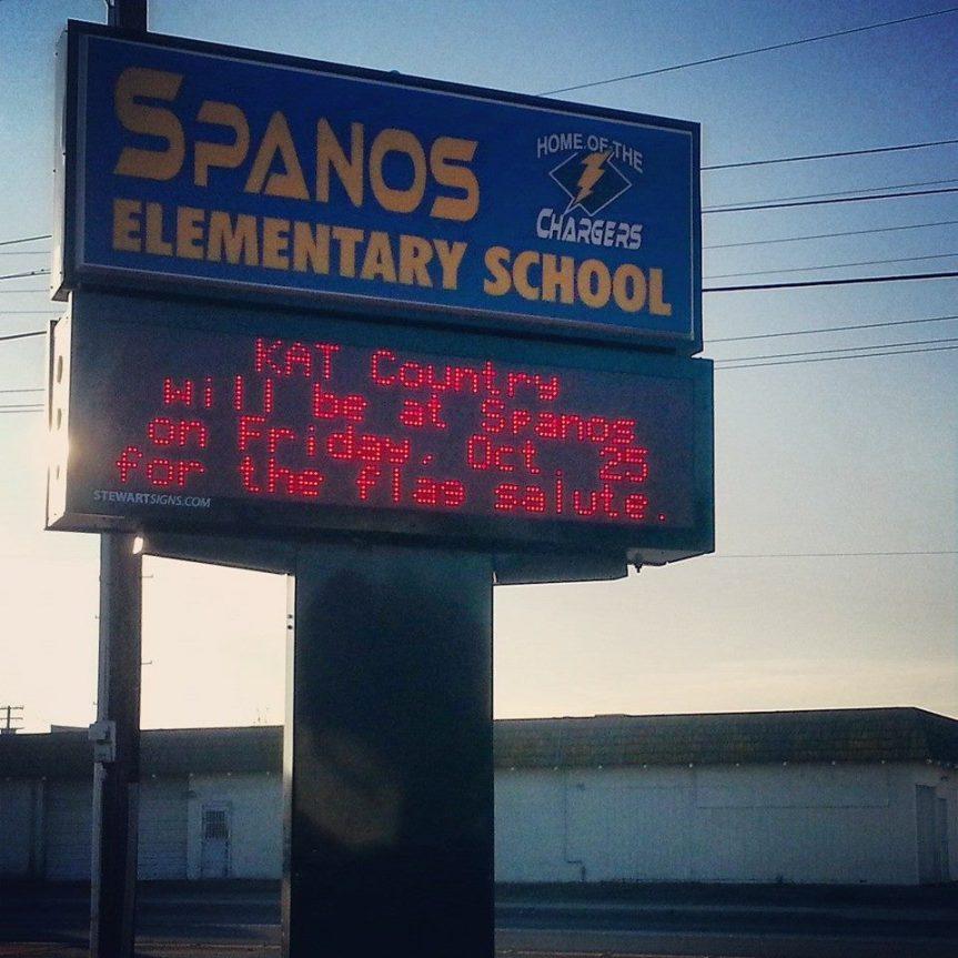 Pledge: Alex G. Spanos Elementary(Stockton)