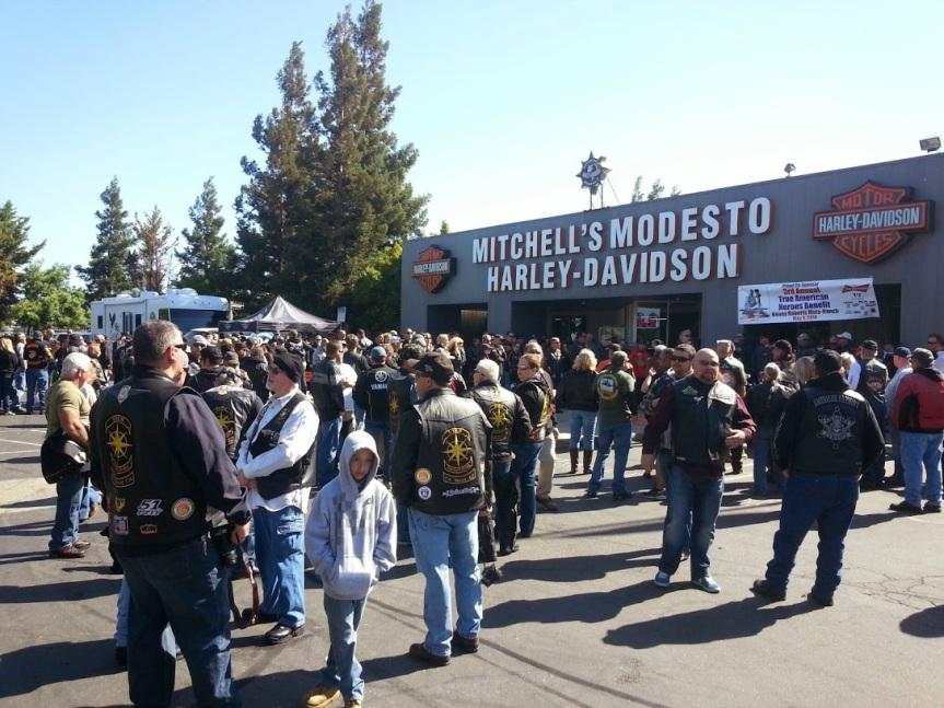 Mike Anderson Jr. Memorial Ride –2014