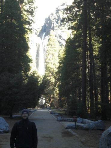 Starting off on the Yosemite Falls Trail