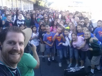 Selfie with the Principal!