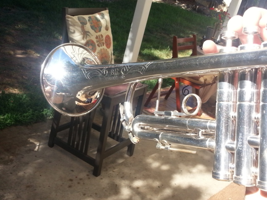 Modesto Bee Story: Country Trumpet Stolen