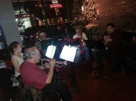 Brass Ensemble 2014 at Barking Dog in Modesto