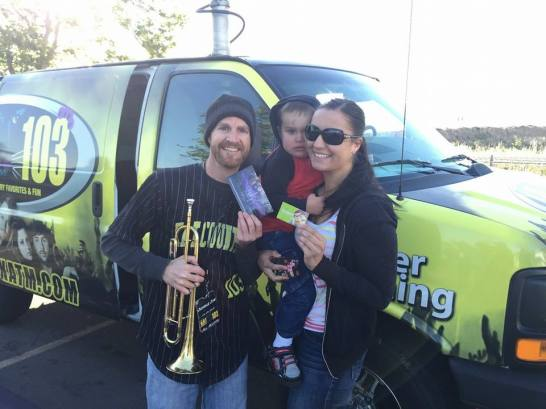 She won a Family 4-Pack of Two Day Park Tickets!