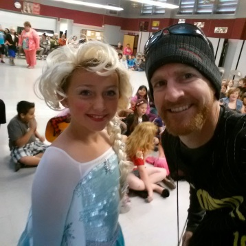 ELSA was in Oakdale!