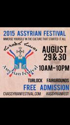 Live Radio at the Assyrian Food Festival
