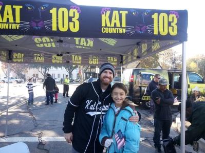 Kat Fan at the parade