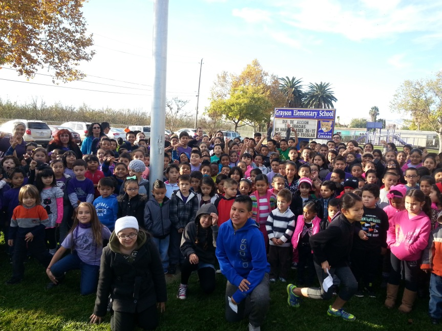Pledge of Allegiance – Grayson ElementarySchool