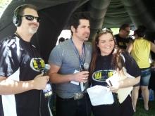 DJ Walker, JT Hodges and Nikki Thomas