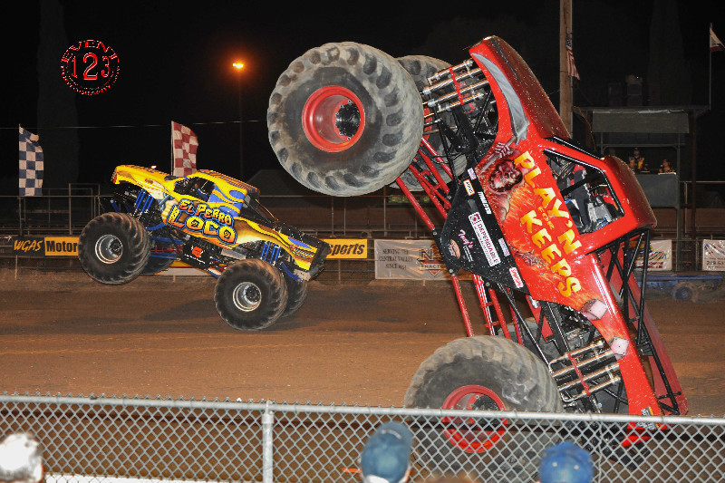 Monster Trucks in Turlock Saturday
