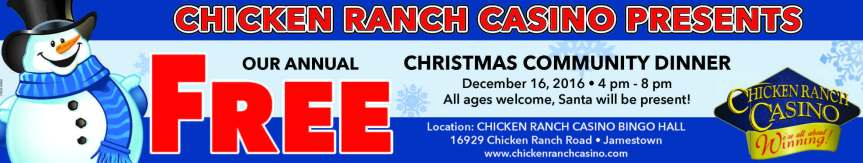 Free Dinner and Live Radio at ChickenRanch!
