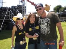 Jaimee Lee, Nikki Thomas and Lee Brice
