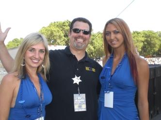 DJ Walker and the Bud Girls