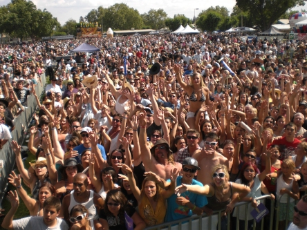 Crowd from Stage