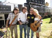 Jungle Jim with The Band Perry - LAC 2010