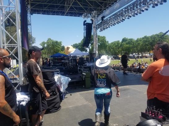 Jaimee Lee Hits The Stage!