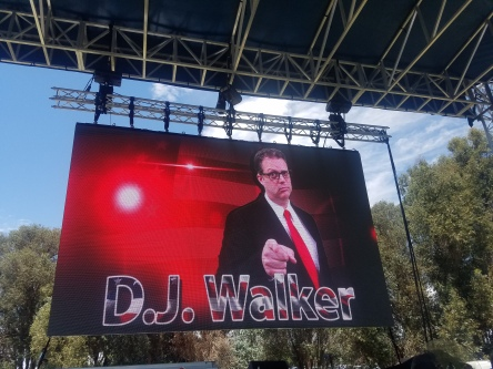 DJ Walker getting serious!