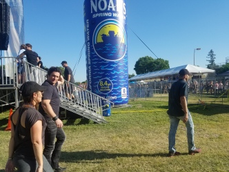 Joe Nichols and Noahs Water...Larger Then Life