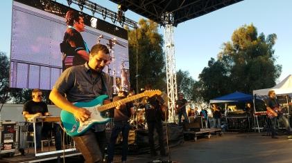 Joe Nichols Guitar Player. Only his 3rd show with Joe!