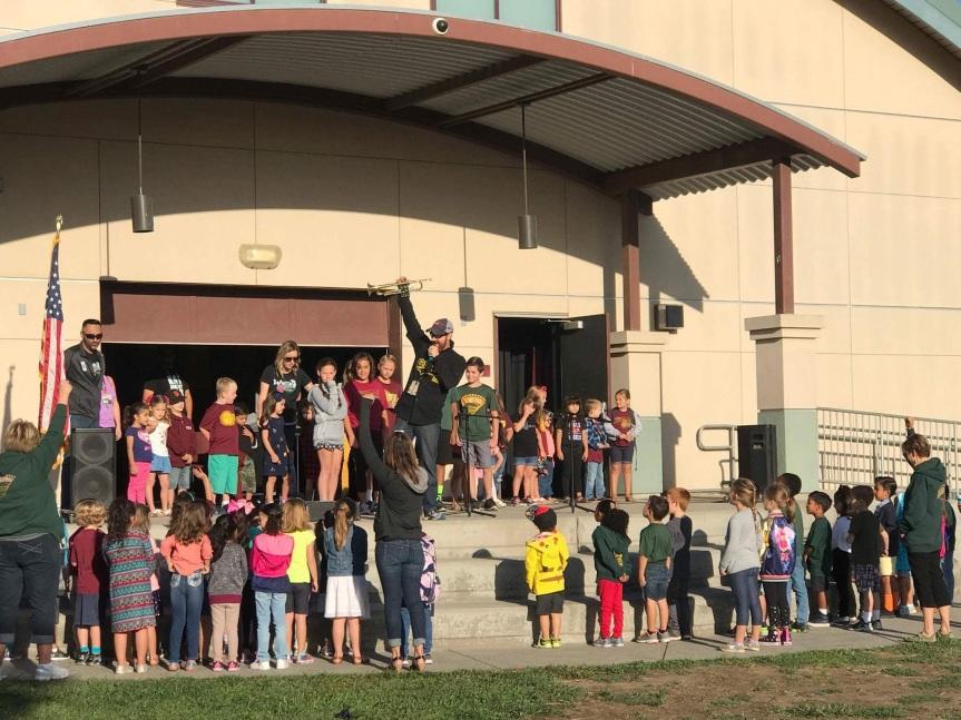 Walnut Elementary Pledge ofAllegiance