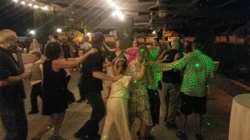 120 people in a Conga Line